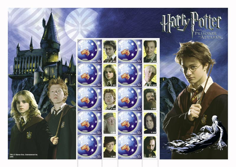 Harry Potter Stamps