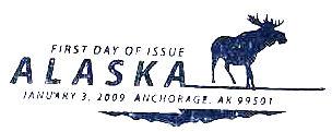 Alaska pictorial cancellation