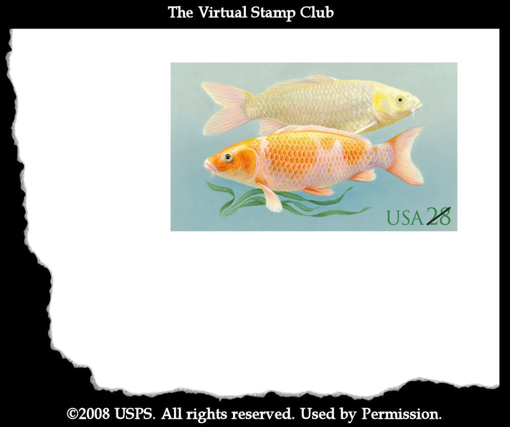 Virtual stamp club 2009 us stamp schedule for Koi 8th ave