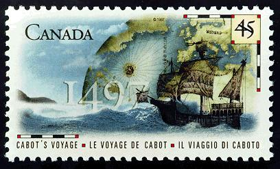 Virtual Stamp Club John Cabot Stamps